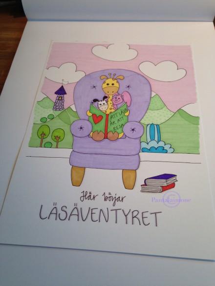 Läsäventyret - copyright